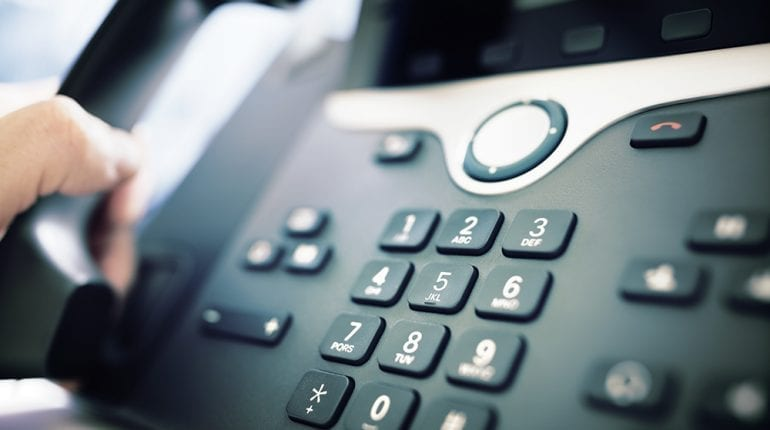 Business Phone Image